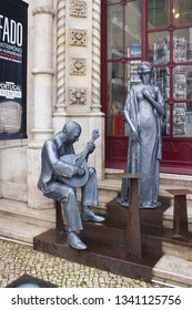 LISBON, PORTUGAL - March 1, 2019: Monument to Fado in Lisbon