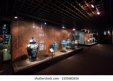 Lisbon, Portugal - May 04, 2018: Exhibition at the National Museum Of Ancient Art, Lisbon, Portugal.