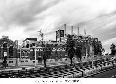 LISBON, PORTUGAL - MAY 07, 2008: View of Electricity Museum located at former power plant Central Tejo in Lisbon, Portugal on May 07, 2008.