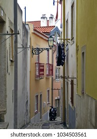Lisbon street, Portugal.
