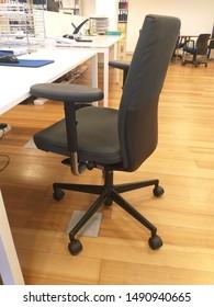 Lisbon/Portugal - august 29, 2019: office swivel chair