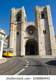 Lisbon's ancient cathedral was built by Portugal's first king on the site of an old mosque in 1150. With two bell towers and a rose window, it resembles an old fortress.