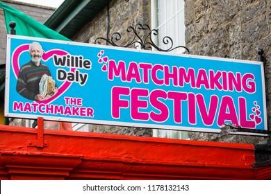 Lisdoonvarna Matchmaking Festival data