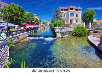 L'Isle sur la Sorgue, a town in Provence, France, famous for antiques