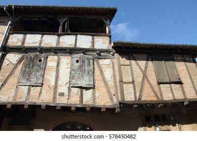 Lisle sur Tarn Midi Pyrenees France Timbered house