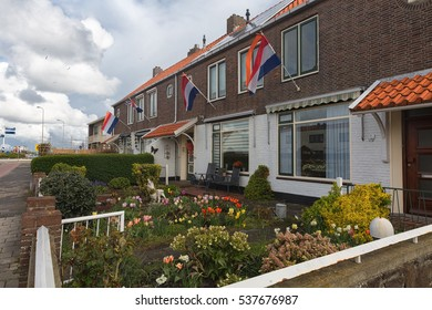 LISSE, NETHERLANDS - 04,26,2016: A small town in northern Holland