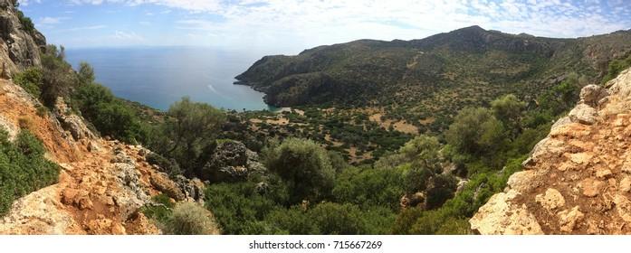 Lissos Archaelogical Site, Crete, Greece