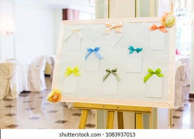 list of the wedding guests