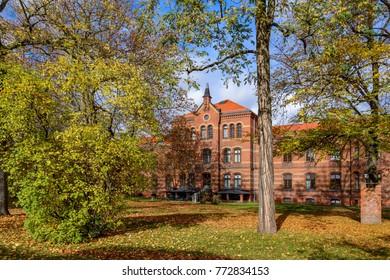 "Listed protestant hospital ""Koenigin Elisabeth Herzberge"" (""Queen Elizabeth Herzberge"") in Berlin-Lichtenberg: House 4"