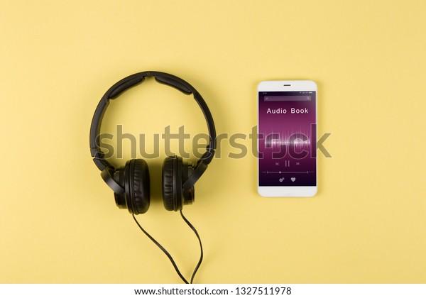 Listen Music Online Concept Online Music Stock Photo (Edit