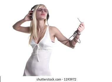 listening music and trance