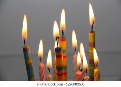 Birthday Candles Images Stock Photos Vectors
