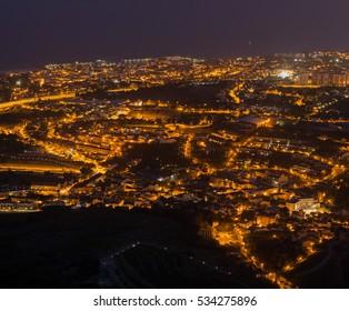 The lit Night