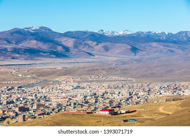 Litang Town in Sichuan of China