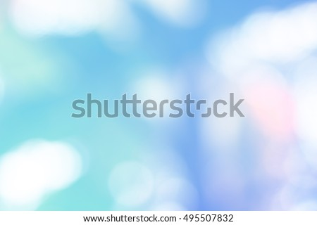 Lite Blue Abstract Background Natural Bokeh Stock Photo Edit Now