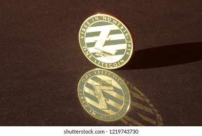 Litecoin crypto currency coin