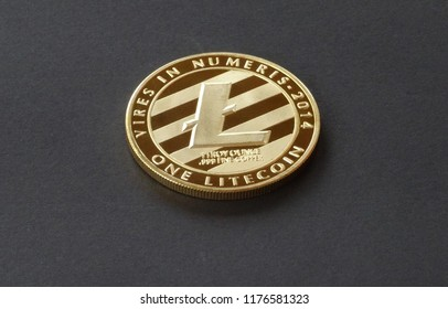 Litecoin, crypto curreny coins, digital money, blockchain