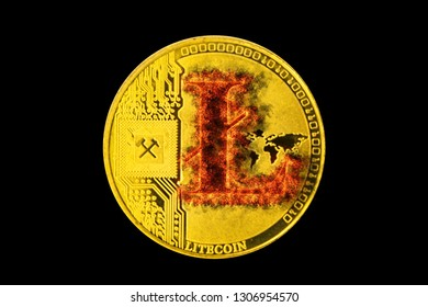 Litecoin that is consuming and exhausting. Litecoin because its value goes up a lot. Litecoin burning its price in historical maximums or minimum. Litecoin recently mined.