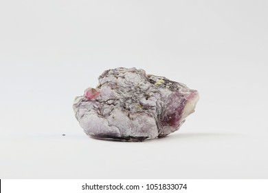 Lithium mica lepidolite from Haapaluoma lithium quarry in Finland.  Lepidolite is a major industrial source for rubidium and caesium.