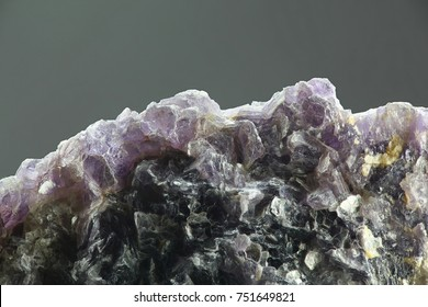 Lithium mineral called lepidolite from Haapaluoma pegmatite quarry, Finland.