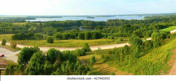 Lithuania - Anyksciai Forest - view from above.