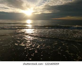 Lithuania Nida Baltic Sea Sunset