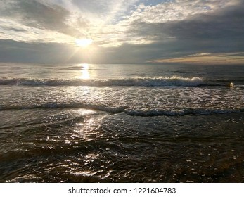 Lithuania Nida Baltic Sea Waves Sky