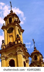 Lithuania Vilnius city - center - Church