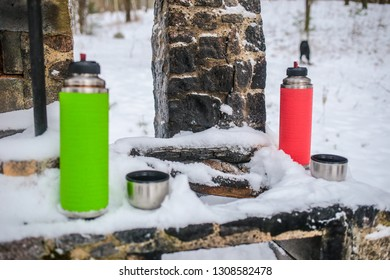 Lithuania winter hiking