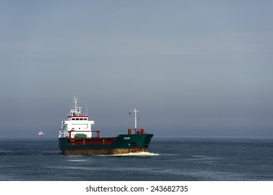 LITHUANIA-AUG 07:tanker in the baltic sea on August 07,2013 in Lithuania.