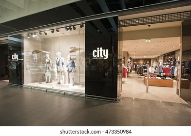 LITHUANIA-JUNE 10:CITY fashion store on June 10,2016 in Lithuania.