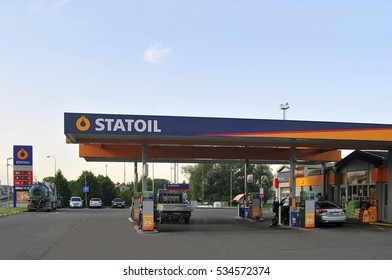 LITHUANIA-JUNE 29:STATOIL gas station  on June 29,2016 in Lithuania. Statoil is an international energy company present in more than 30 countries around the world.