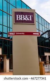 Lititz, PA - July 30, 2016: The BB&T Bank University Building in Lititz, Lancaster County, Pennsylvania.