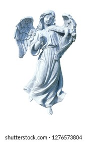 Little angel statue