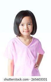A little Asian Girl
