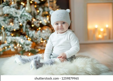 Little baby at Сhristmas