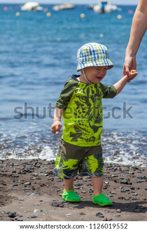e9c519b1e2d Little Baby Boy Crying Angry Want Stock Photo (Edit Now) 1126019552 ...