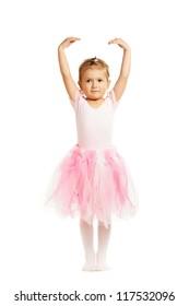 little ballerina dancer