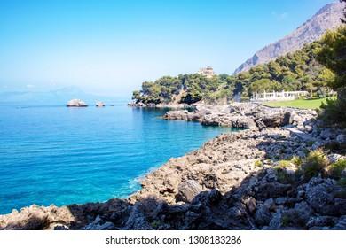 Little bay of Maratea coast, Basilicata, Italy