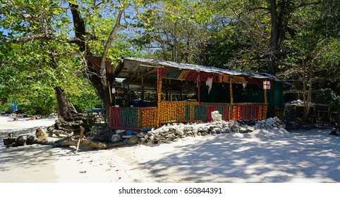 Little Beach Bar and Food Shop in Jamaica