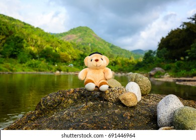 Little bear and Khiriwong village the best ozone in thailand