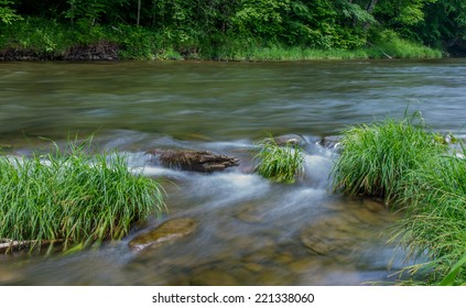 Little Beaverkill River - Famous trout stream in New York