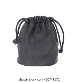 Little black sack, isolated