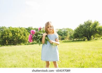 3501447755d Nice Little Girl White Dress Derty Stock Photo (Edit Now) 501173482 ...