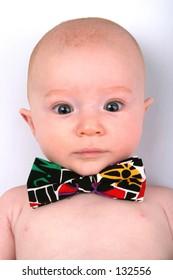 Little Box in Tux Tie