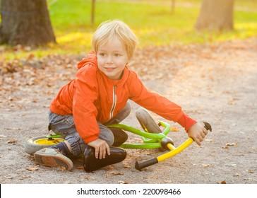 little boy child portrait