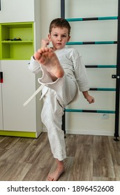Feet karate Bare feet