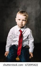 little boy emotions