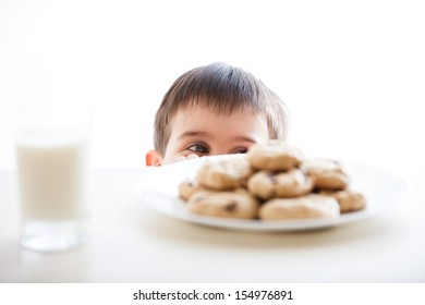 Little Boy And His Cookies