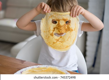 Funny Pancakes Images Stock Photos Vectors Shutterstock
